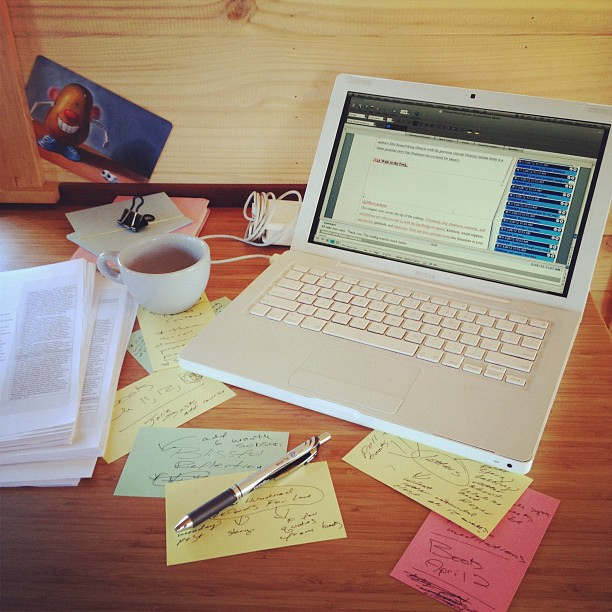 editing and rewriting