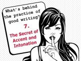 The secrets behind the practice of good writing:7