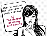 The secrets behind the practice of good writing: 17