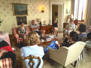 venice retreat group session